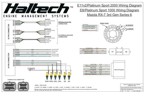 haltech wiring diagram haltech sprint 500 wiring diagram