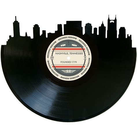 Nashville Records Nashville Skyline Records Redone Label Vinyl Record