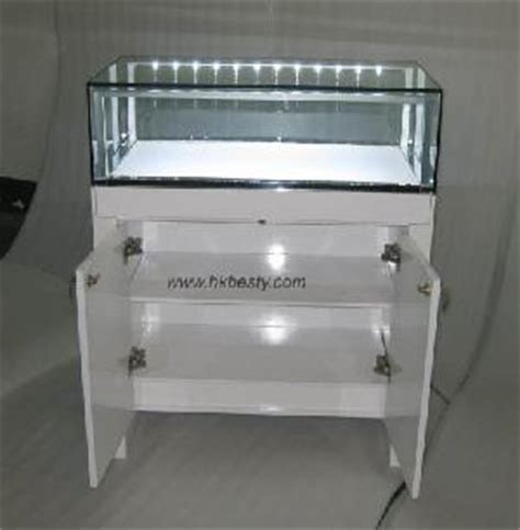 led lights for jewelry showcase led kiosk display case glass wood jewelry stand furniture