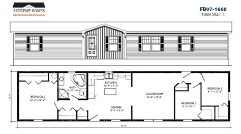 16 X 60 Mobile Single Wide Home Floor Plans Free Home 24 X 80 House Plans