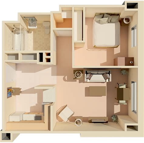 450 Sq Ft Apartment Design by Floor Plans The Park Danforth Independent Living Portland