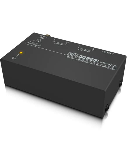 Behringer Phono Prelifiers Microphono Pp400 behringer pp400 phono lifier