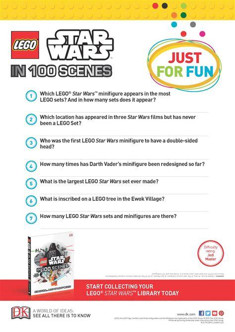 printable star wars quiz questions star wars lego trivia