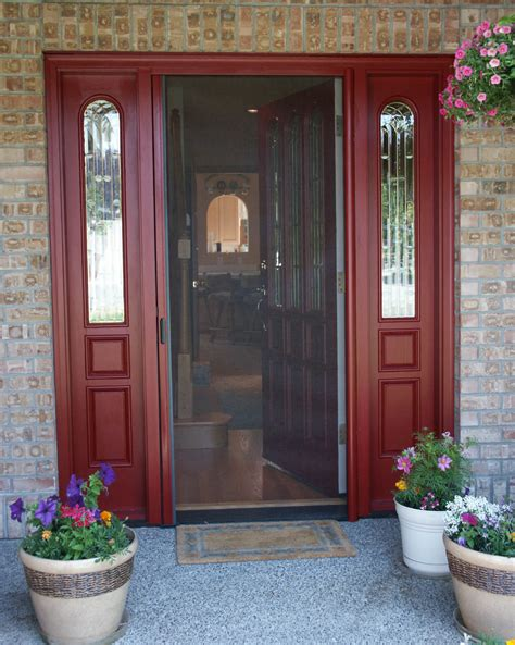 Front Door With Screen Door Front Door With Screen Danco Screen Service Window And Door Screens Torrance Calif Security