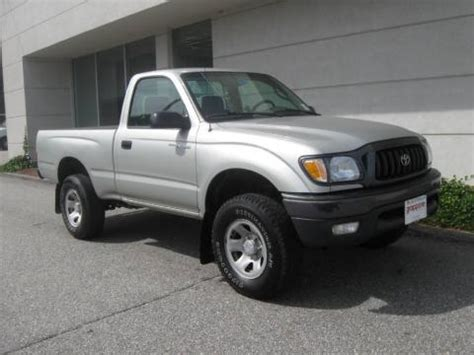 used 2004 toyota tacoma regular cab 4x4 for sale stock #