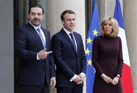 emmanuel macron hariri figure at center of lebanon intrigue prime minister saad