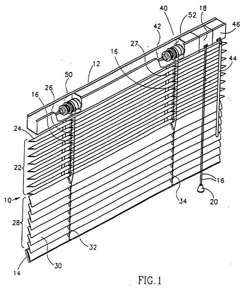 jalousie auf englisch patent ep0887507b1 wendemechanismus f 252 r eine jalousie