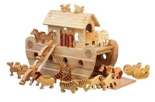 wooden noah s ark extra large deluxe model natural