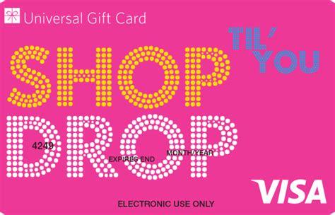Visa Gift Card Stores - universal visa gift card shop til you drop