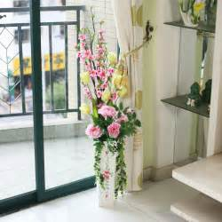 Artificial Flowers For Dining Table 818 Vase Peony Blossom Artificial Flower Set Decoration Flower Dining Table Window