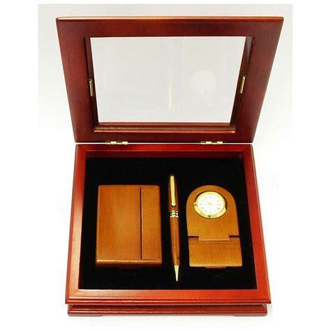 pen desk set executive desk set pen cardholder clock gifts by