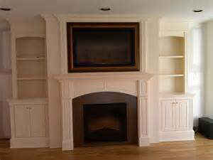 Under Cabinet Trim Fireplace With Artscreen Traditional Family Room New