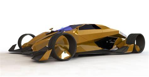 Lamborghini Toro Exotic Supercar Of 2050 Imagined By