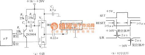 pulse integration circuit s r set reset pulse generator circuit integrated magnetic field sensor hmc1001 1002