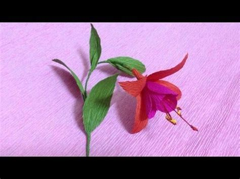 crepe paper flower tutorial youtube 36 best kwiaty z bibuły images on pinterest crepe paper