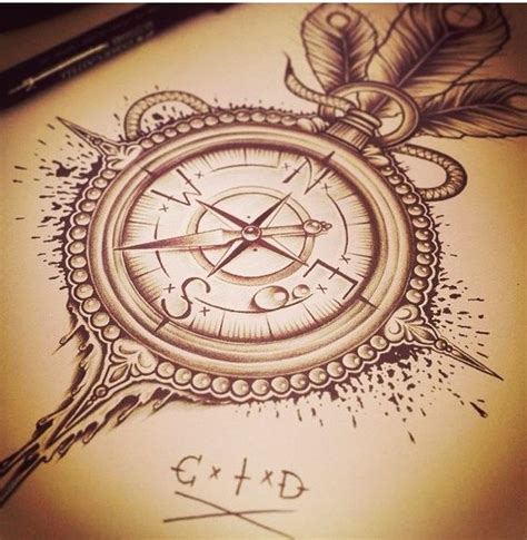 compass tattoo rib cage compass rose tattoo push quot follow my feet if i don t do