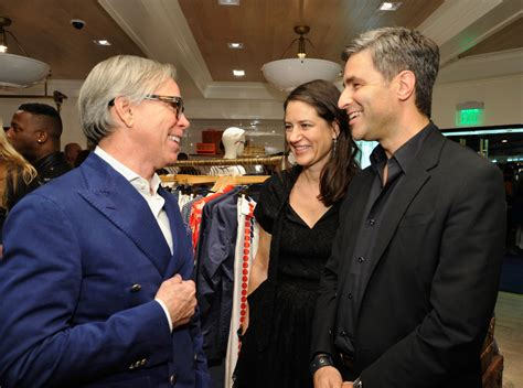 tommy hilfiger la flagship opening inside getty images katherine ross and michael govan photos photos tommy