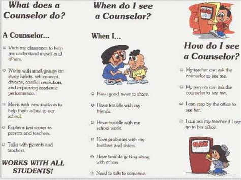 school counselor responsibilities asca roles of a school counselors