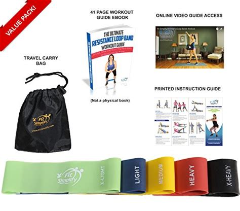 resistor guide ebook pdf fit simplify resistance loop exercise bands with import it all