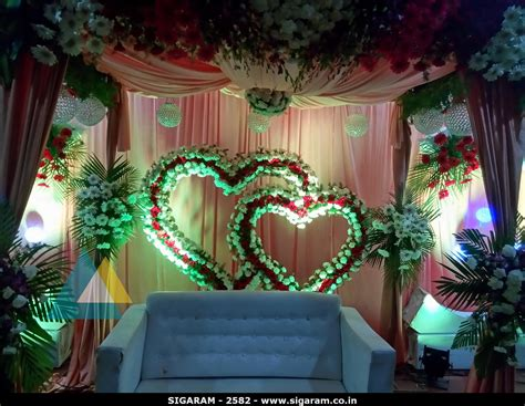Decoration Reception by Wedding Reception Decoration At Subalakshmi Thirumana