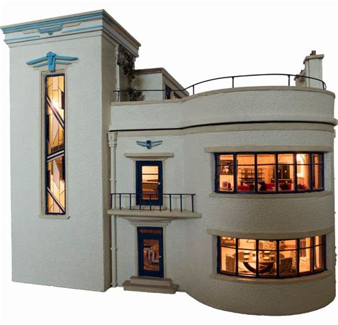 4439 best images about art deco miniatures on pinterest 17 best images about the hippest modern dollhouses and