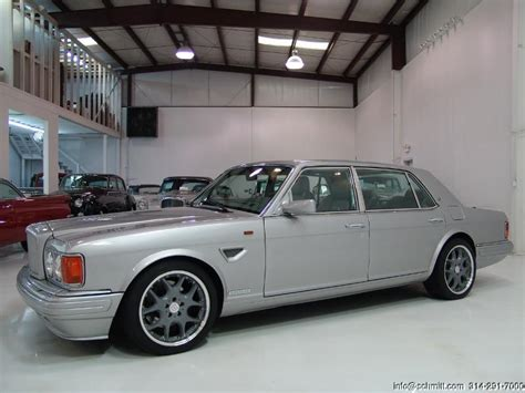 bentley turbo r custom 1997 bentley turbo r 400 mulliner park ward newport