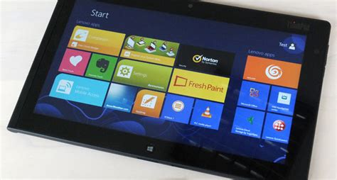 Lenovo Tablet 2 Pro Review review lenovo thinkpad tablet 2 the register