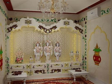 home mandir decoration prayer room design ideas for home