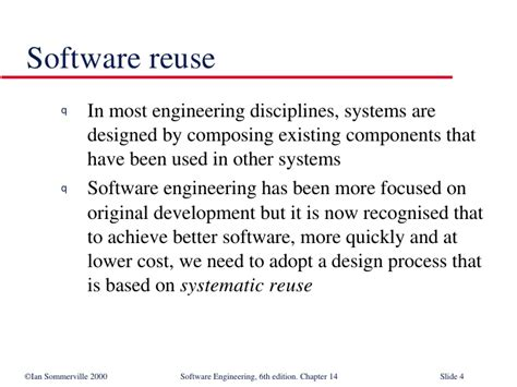 pattern based software engineering design issue reuse in software engineering se14