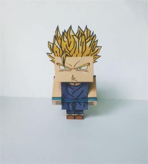 goku wallpaper craft goku ssj papercraft by laleskaugel on deviantart