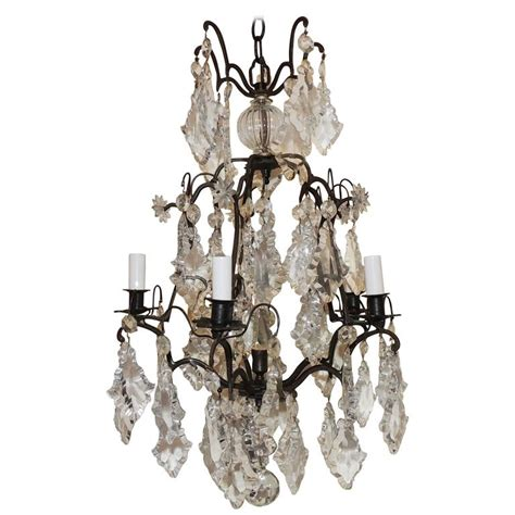 Bird Chandelier Lighting Charming Patinated Bronze Six Light Chandelier Bird Cage Fixture For Sale At 1stdibs