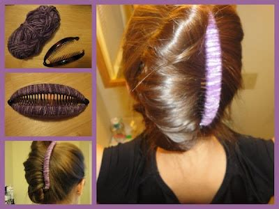 hairstyles using banana clips banana clip revamp more hairstyles pinterest
