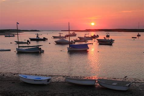 harbor cape cod pamet harbor sunset cape cod photograph by burk