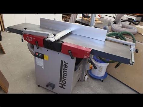 jointer reviews woodworking hammer a3 41 jointer planer review