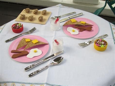diy food crafts american doll food diy breakfast use foam sheets thin corkboard on a roll puncher