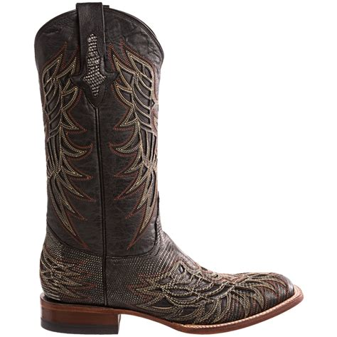cowboy boots for 1883 by lucchese lizard cowboy boots for 7476v
