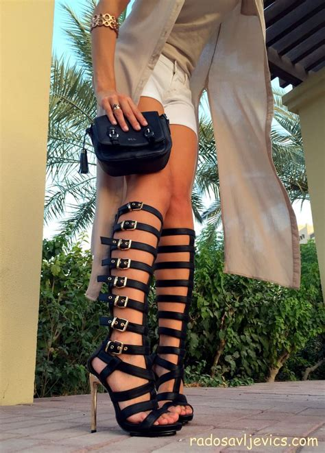 16 to wear with gladiator heels sandals this