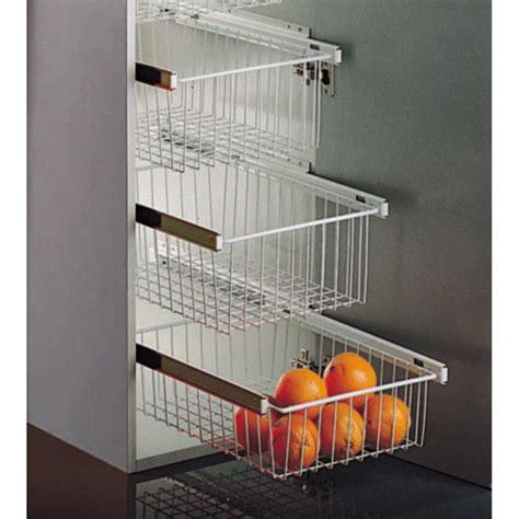 cesto extraible blanco  armarios de cocina casaenorden te ayudamos  organizar tus