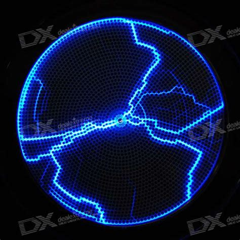 Cheap Usb 4 Aa Powered Sound Activated Blue Light Plasma L Sound Activated Lights