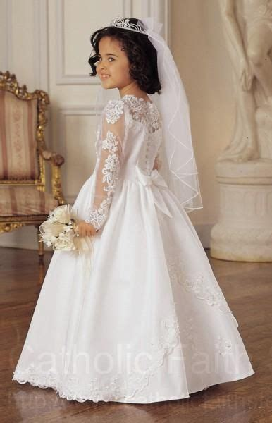 26 best images about Communion dresses on Pinterest   Tulle dress, Satin and Illusions