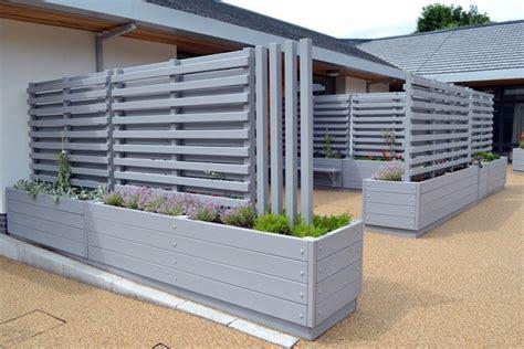 recinzioni per terrazzi grigliati in legno grigliati per giardino grigliate in
