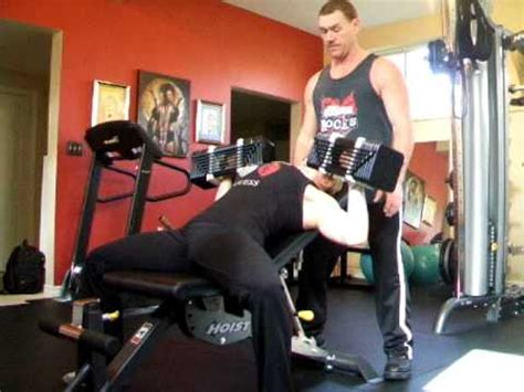 slight incline bench press krista schaus 70 lb db chest press slight incline pronated