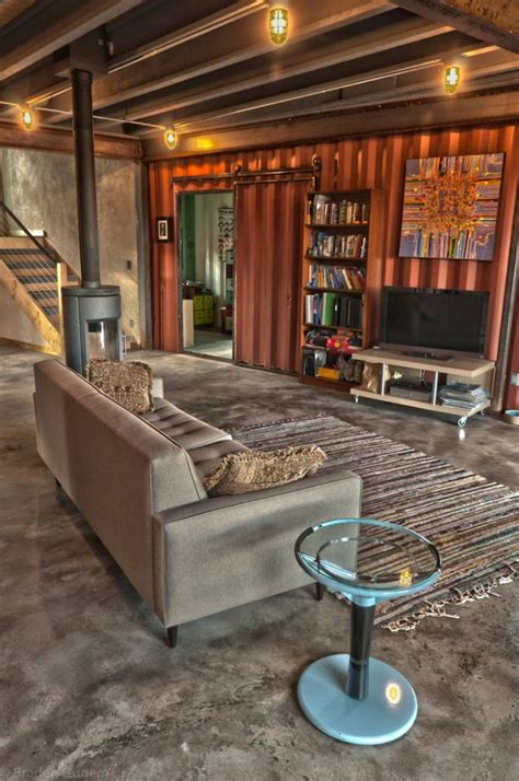 Container Homes Interior Shipping Container House In Colorado
