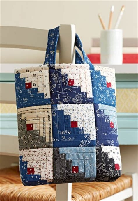 Free Patchwork Patterns For Bags - sewing projects using charm squares allpeoplequilt