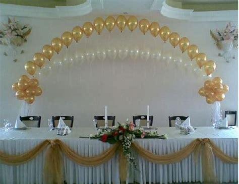 wedding backdrop decorations | balloons / balloon