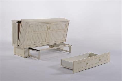 mattress futon murphy cabinet bed buttercream by day