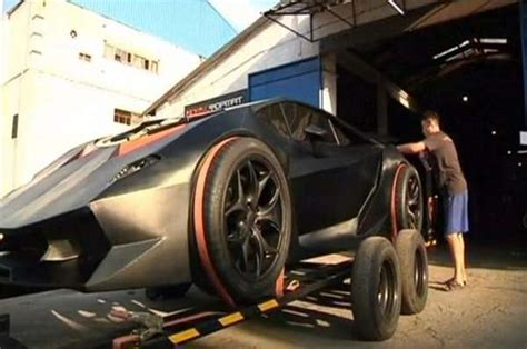 Build My Own Lamborghini Scrap Metal Sports Cars A Team Of Designers Created A
