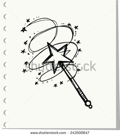 magic doodle free magic wand stock images royalty free images vectors