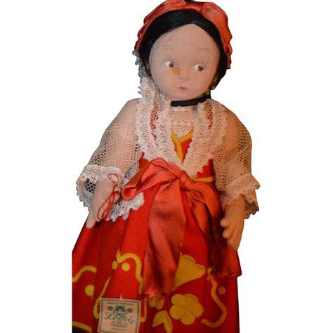 lenci antique dolls antique doll lenci cloth w original tags from