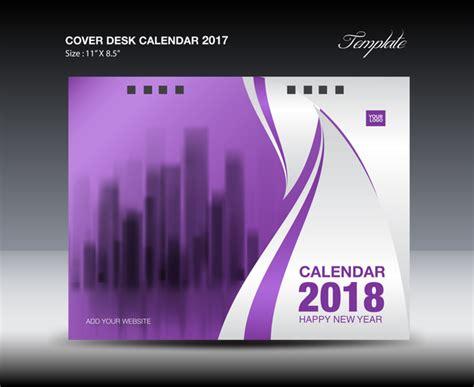 desk calendar design 2018 purple cover desk calendar 2018 design business brochure